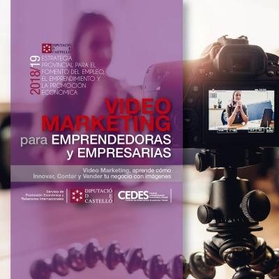 Videomarketing para emprendedoras y empresarias - Vall d´Alba
