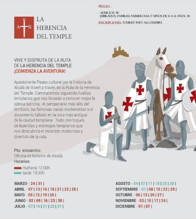 """Ruta """"La Herencia del Temple"""" - Alcalà de Xivert"""