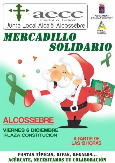 Mercadillo Solidario AECC - Alcossebre