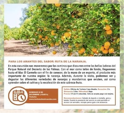 Para los amantes del sabor: ruta naranja - Benicàssim