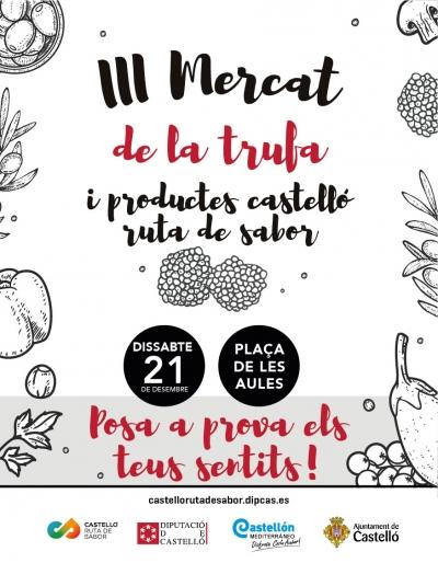 III Mercado de la trufa y los productos Castelló Ruta de Sabor