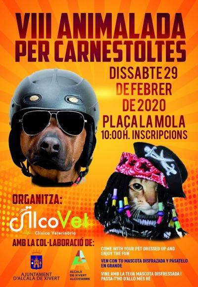 8ª edición del Carnaval para mascotas - Alcossebre