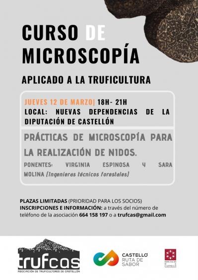 Curs de microscòpia aplicat a la truficultura