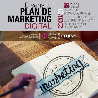 TALLER ON-LINE - Diseña tu plan de Marketing digital