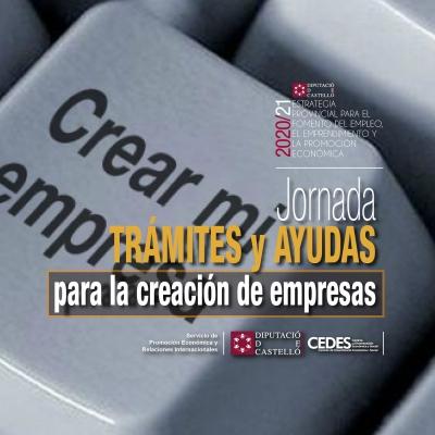 """Jornada """"Tràmits i Ajudes a la creació d'empresas"""""""