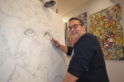 Exposició del pintor y dissenyador gràfic Jorge Ortiz