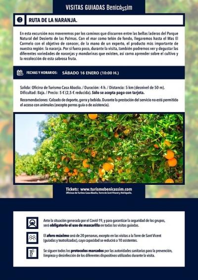 Ruta de la Taronja a Benicassim
