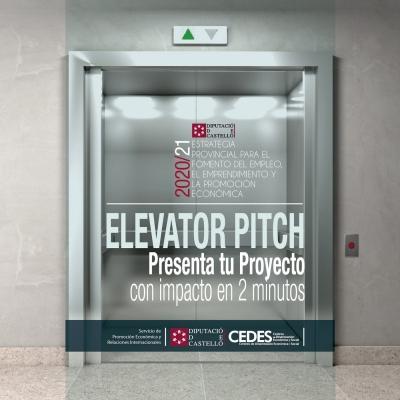 "Taller - ""Elevator Pitch"". Presenta tu proyecto en 2 minutos"