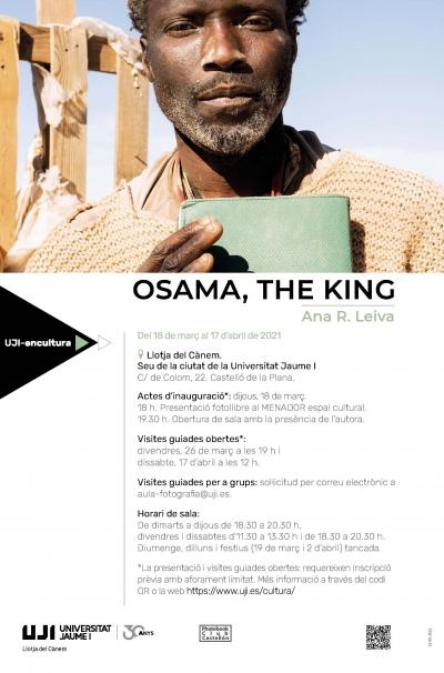 Exposición fotográfica 'Osama, the King'