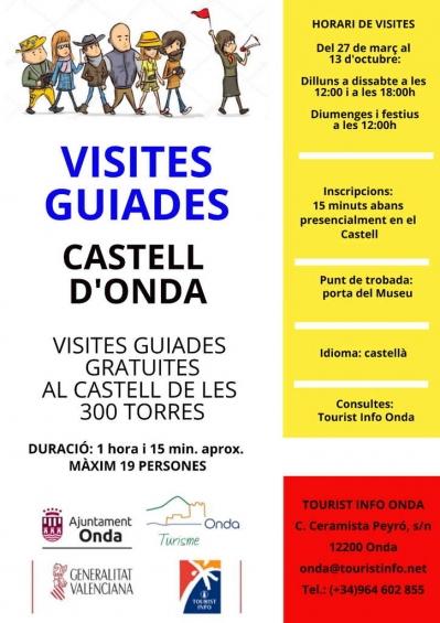 Onda: Visites guiades al Castell de les 300 Torres.