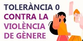 Tolerància 0 contra la violència de gènere