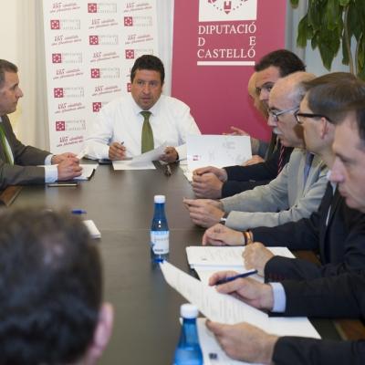 Reunión de la Junta de Gobierno de la Diputación de Castellón
