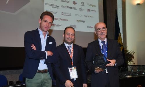 Premio al Mejor Plan de Innovación - Foto de la recepción del premio