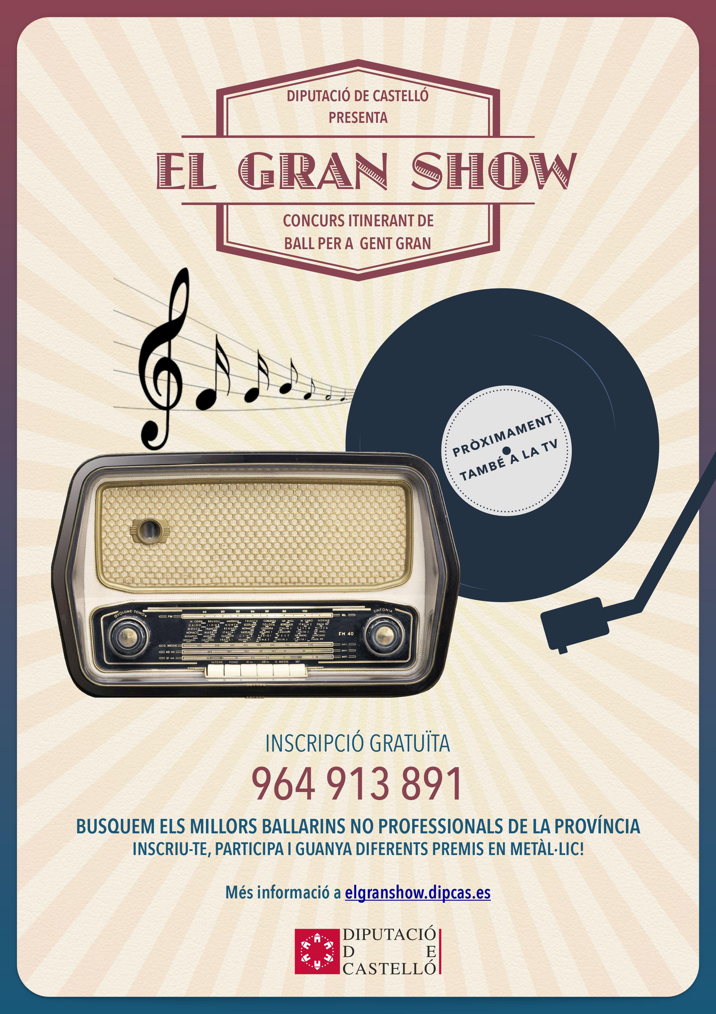 Cartell El Gran Show (valenciano)