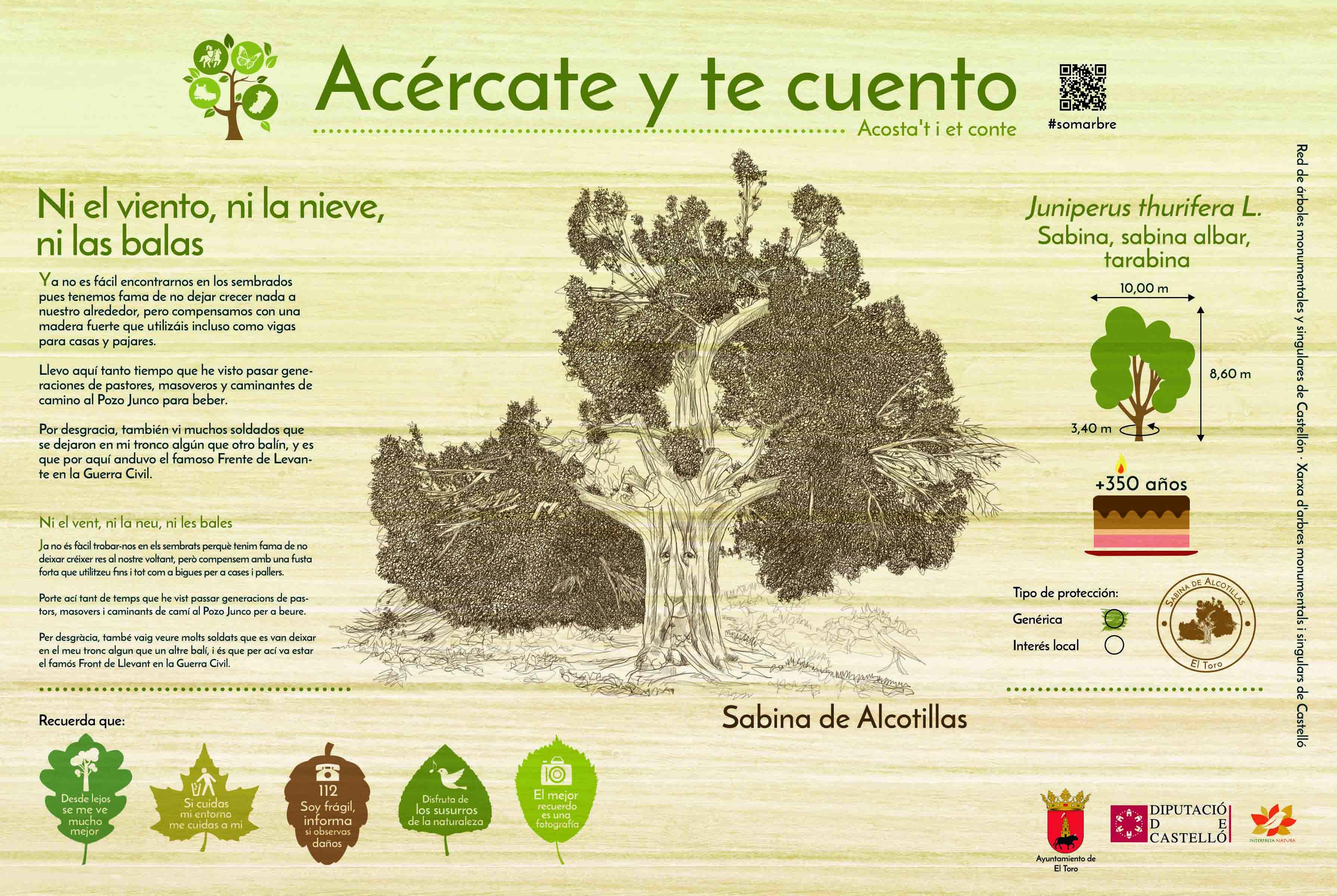 arboles castellano