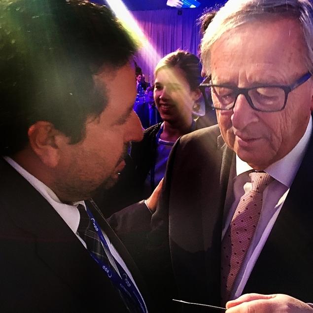 Moliner trasllada a Juncker la necessitat que la UE aborde la lluita contra la despoblació rural