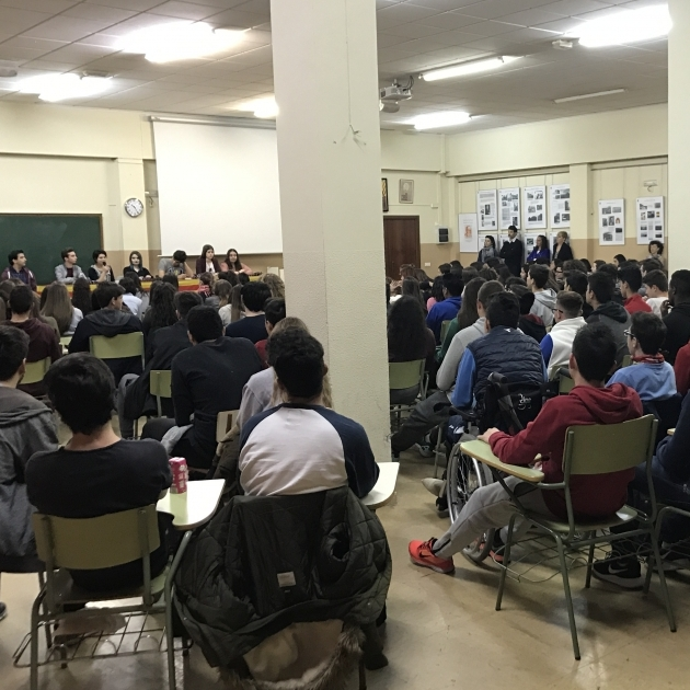 Els alumnes del Sos Baynat, junts contra l'assetjament escolar -copia
