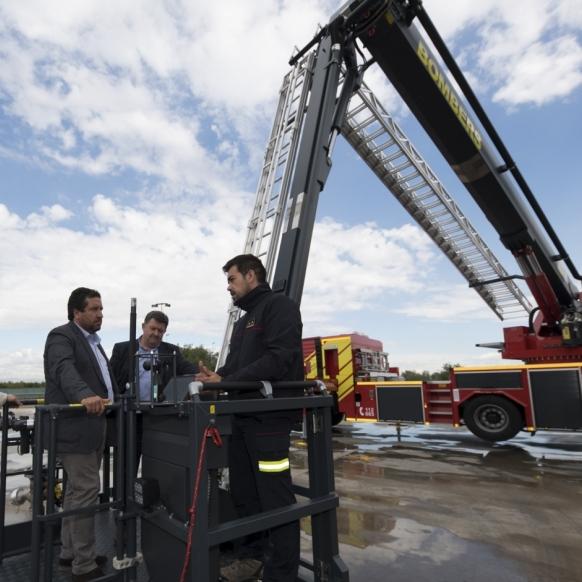 Ganando seguridad ante incendios y rescates en altura