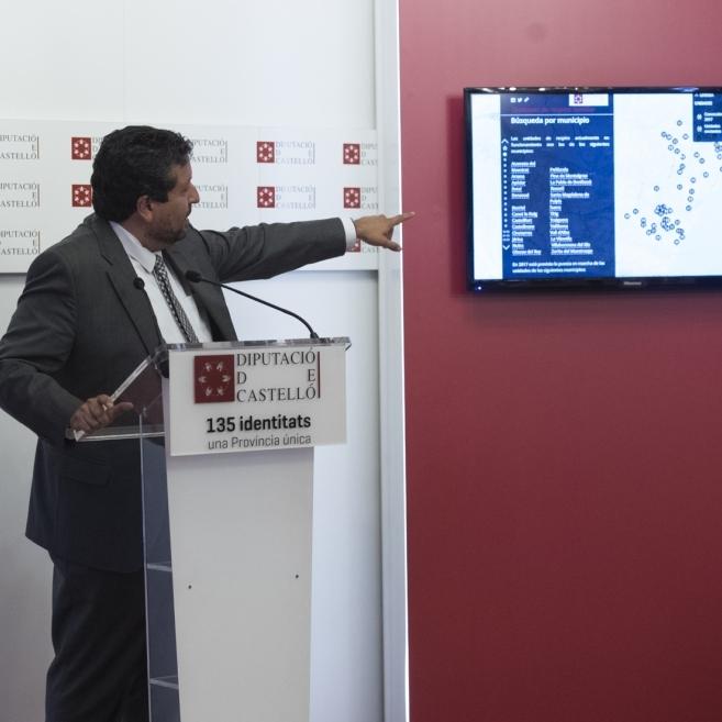 Diputación construye la mayor red de servicios sociales para los mayores del interior