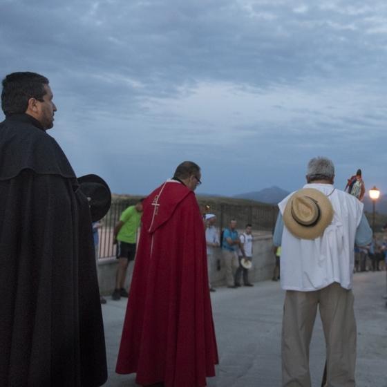 Moliner preside la rogativa de Culla a Sant Joan de Penyagolosa