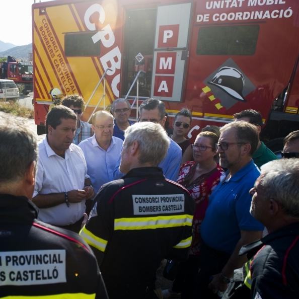 Los bomberos limpian más de 700 kilómetros de pistas forestales