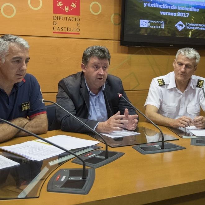 El Consorcio de Bomberos refuerza su dispositivo de incendios