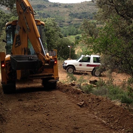 La Diputación retoma los trabajos en caminos para rehabilitat 2.500 kilómetros en 2017