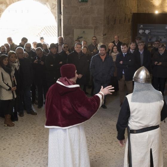 El Castillo de Peñíscola acoge el I Encuentro Nacional Templario