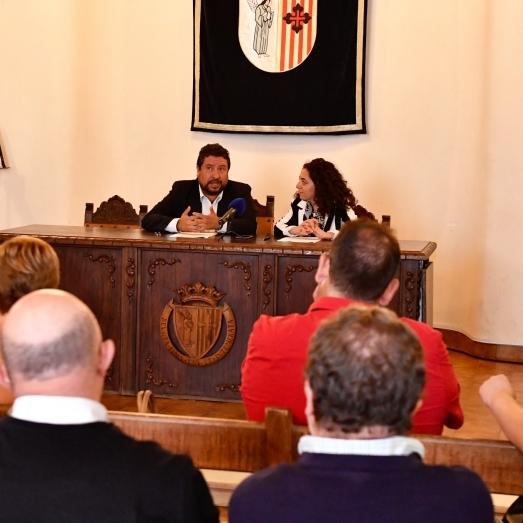 La Diputación dotará a Sant Mateu de un local para impartir talleres de empleo