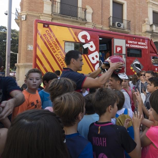 La Diputació ensenya a 13.000 xiquets i majors de la província a prevenir incendis