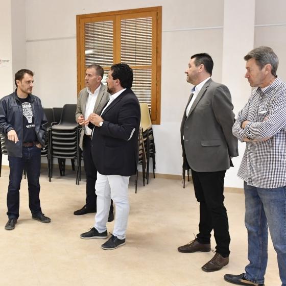 La Diputación impulsa la rehabilitación del Castillo de Aín