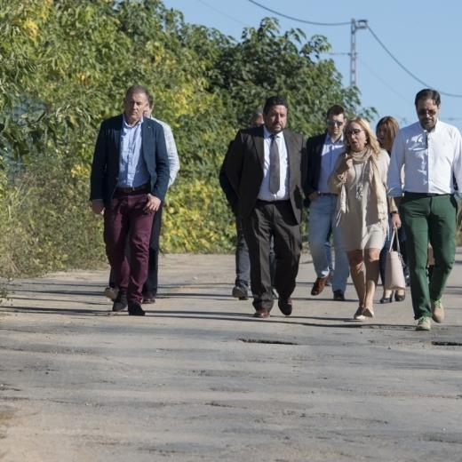 La Diputación invertirá 125.000 euros en el camino viejo de Torreblanca al Mar