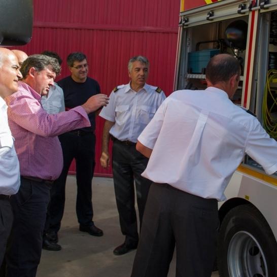 La Diputación aumenta un 4% el presupuesto de bomberos