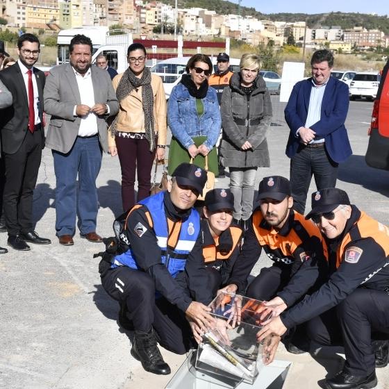 La Diputación consolida el mayor anillo de seguridad en la provincia