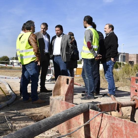 La Diputación invierte 100.000€ en mejorar la red de alcantarillado de la playa de Moncófar