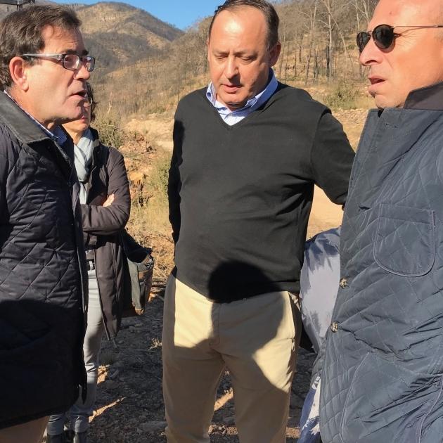 El Consorcio Provincial de Bomberos rehabilita pistas forestales en Artana y Altura