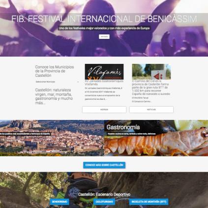 La nueva web turística de la Diputación incorpora 91 nuevas rutas deportivas