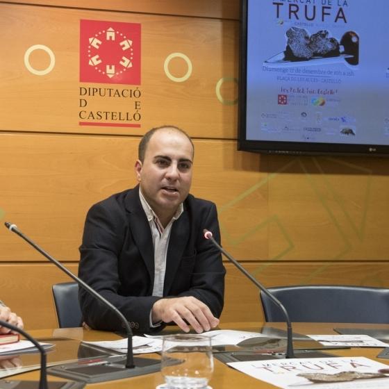 La Diputació presenta el I Mercat de la Tòfona Castelló Ruta de Sabor