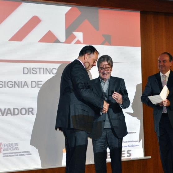 La Diputació rep la insígnia d'Or de la Federació d'Empreses d'Economia Social