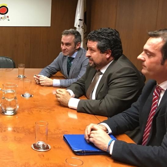 Diputación y Ministerio coordinarán estrategias turísticas