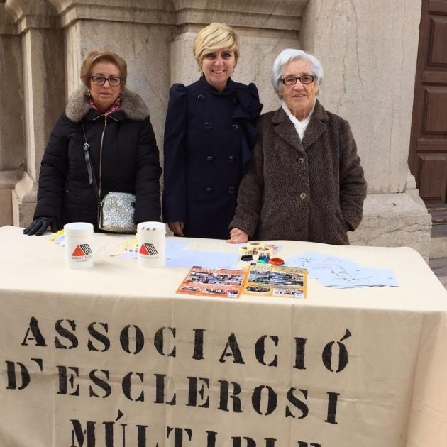 La Diputación reafirma su compromiso con los afectados de esclerosis múltiple