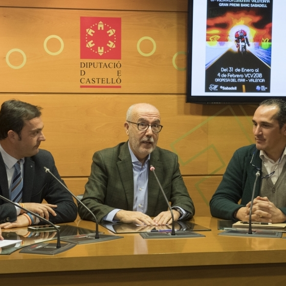 La Diputació arranca amb la Volta a la Comunitat Valenciana 'Castelló escenari esportiu'