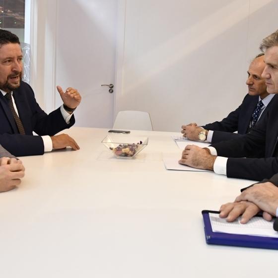Moliner se reúne con el presidente de Renfe para multiplicar los turistas por AVE a Castellón