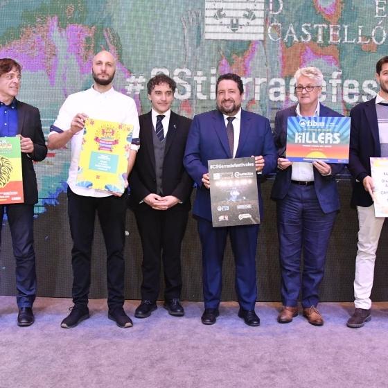 La Diputación aumenta a 500.000€ su inversión en #CSTierradeFestivales