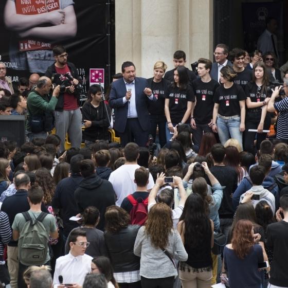 La Diputación reunirá a escolares en el estreno de 'Nada será igual' contra el bullying