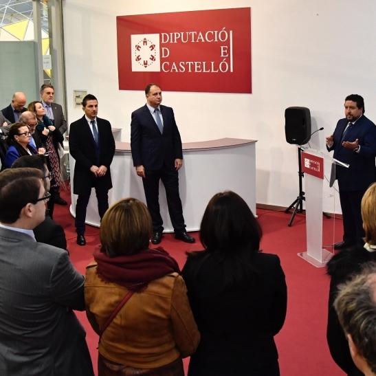 """Moliner: """"Castellón es la provincia presente en más hogares de todo el mundo gracias a la cerámica"""""""