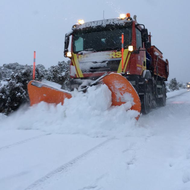El Consorcio Provincial de Bomberos mantiene un dispositivo de 150 efectivos por la nieve