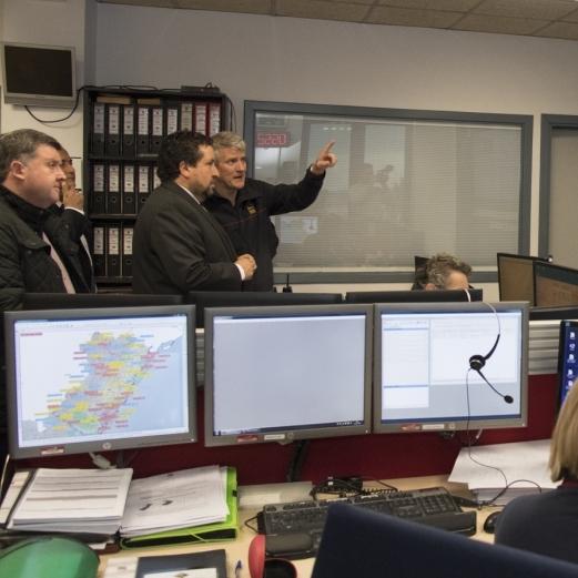 Moliner se reúne con el Centro de Coordinación de Emergencias