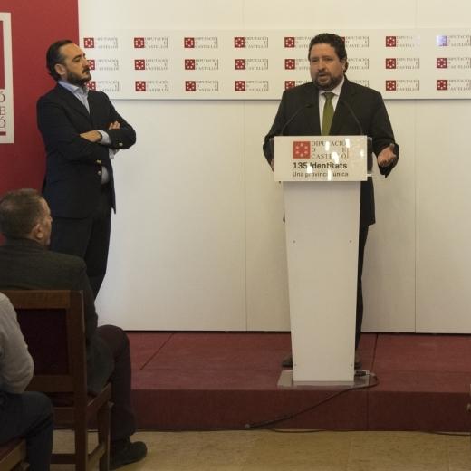 La Diputació i el CD Castelló obrin vies de col·laboració