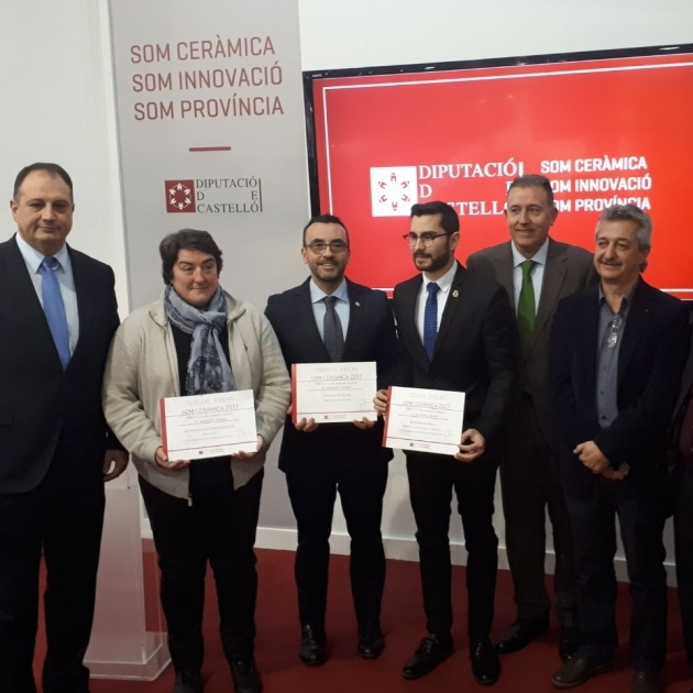 La Diputación entrega a Vila-real, L´Alcora y Les Coves de Vinromà el premio 'Som Ceràmica'